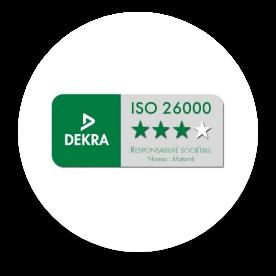 Le logo de ISO-26000.