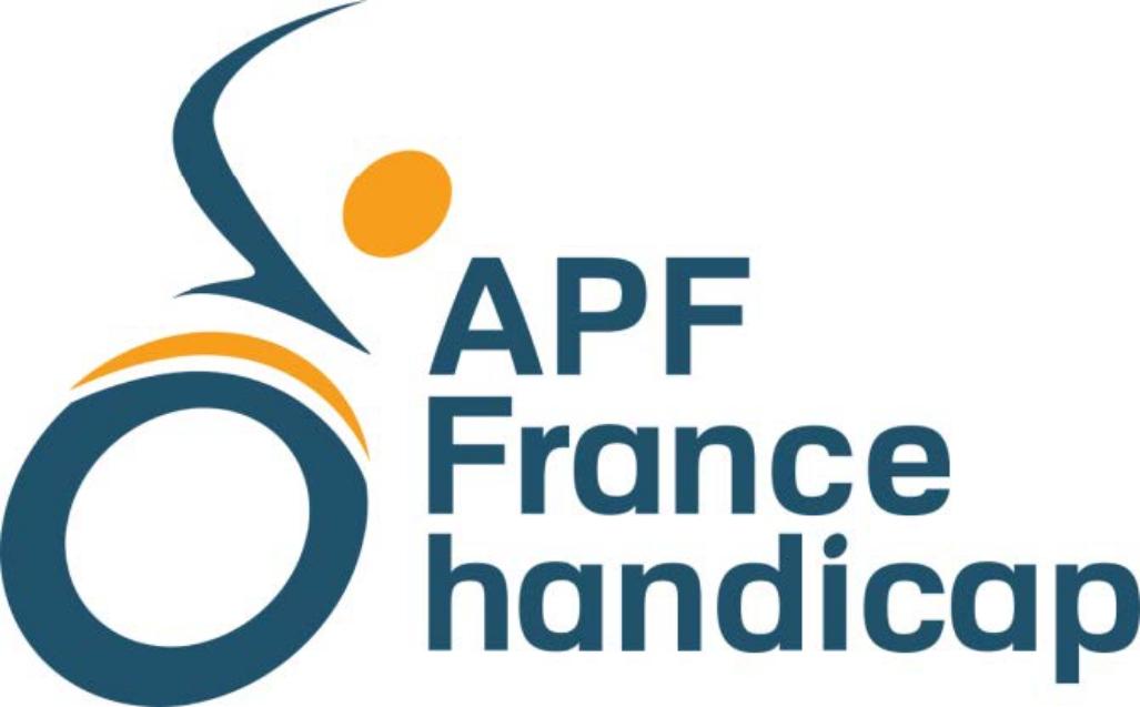 Le logo de APF France Handicap.