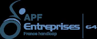 Le logo de APF Entreprises 64.