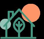 Illustration d'une maison.