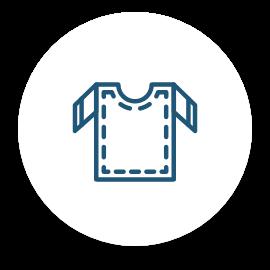 Une icône d'un t-shirt.