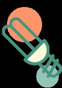 Illustration d'une ampoule.